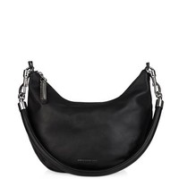 Banana leather shoulder bag