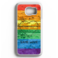 Lgbt Same Love Rainbow Flag Samsung Galaxy S6 Case Aneend