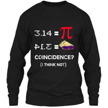 Pi Equals Pie Funny Math Pun Pi Day  LS Ultra Cotton Tshirt