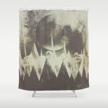 When mountains fall asleep Shower Curtain by HappyMelvin | Society6