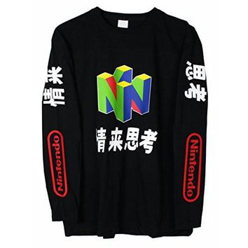 N64 Japanese Long Sleeve T-Shirt