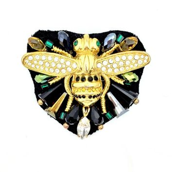 Busy Bee Pin Hairpin or Brooch
