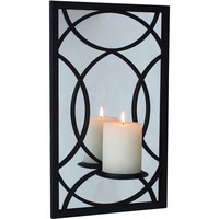 Walmart: Better Homes and Gardens Metal Mirror Pillar, Black