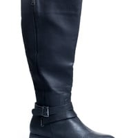 Terry Tall Black Riding Boot