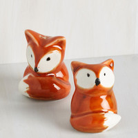 ModCloth Woodland Creature Every Now and Den Shaker Set