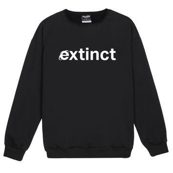 extinct SWEATER JUMPER womens ladies fun tumblr hipster fashion grunge cry baby tear top cute vintage kawaii cute pink internet wifi