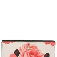 kate spade new york cameron street roses - stacy wallet | Nordstrom