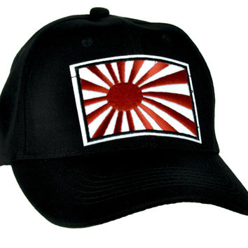 Japan Flag Rising Sun Hat Baseball Cap Anime Clothing