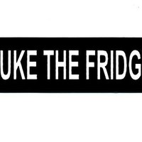 Motorcycle Helmet Sticker - Nuke The Fridge