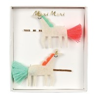 Unicorn with Tails Hair Pins