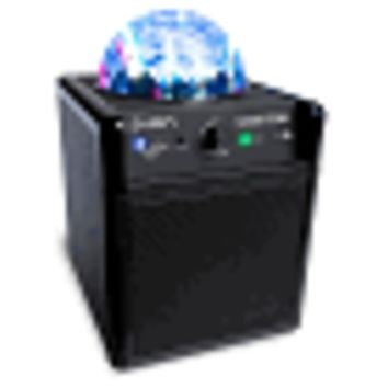 Ion Party Power iPA19C Bluetooth Portable Speaker System w/Party Lights & 3.5mm Input - 4Hr Battery With Music & Lights!