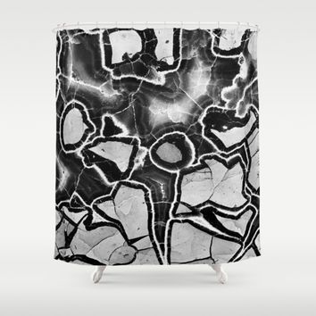 Cracked Shower Curtain by UMe Images | Society6