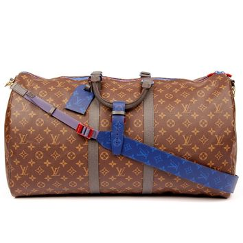 "Louis Vuitton Monogram L001 Canvas Keepall Weekend/Travel Bag ""NWT"" (Authentic Pre-owned)"