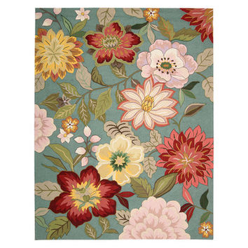 Nourison Fantasy Floral Area Rug & Reviews | Wayfair