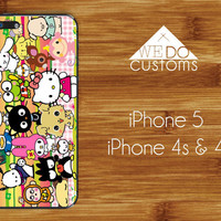 iPhone Cases  Hello Kitty Sanrio Kawaii Cat Hipster by WeDoCustoms