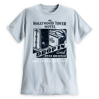 Hollywood Tower Hotel Tee for Adults - Gray | Disney Store