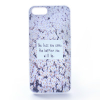 The Less You Care, The Happier You Will Be Daisies Case