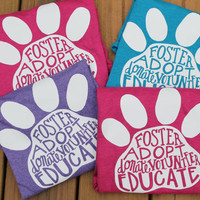 Dog Rescue Shirt, Adopt, Foster Dog, Rescue Dog, Animal Rescue, T-Shirt, Pet Adoption Shirt