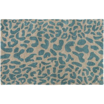 Panthera Area Rug DARK GREEN