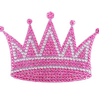 Princess Crown Crystal Car Decal