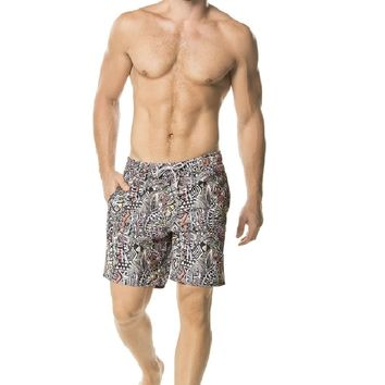 Agua Bendita Mens Luxury Swimwear - Himalaya