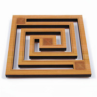 Frank Lloyd Wright Whirling Arrow Hardwood Trivet