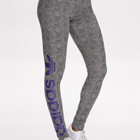 LAKERS LEGGINGS - Black, White Leggings from ADIDAS ORIGINALS