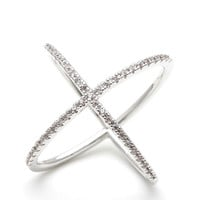 x ring, x cross ring, cross ring, crisscross ring, stacking ring, woman ring, bridesmaid ring, eternity ring, valentines day, anniversary