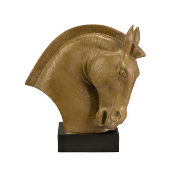 Table Top Statue - Horse Head