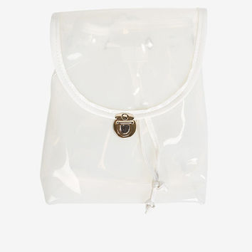 90s Clear Jelly Mini Back Pack