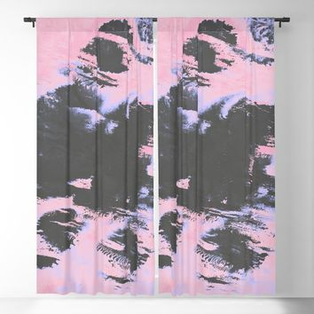 Forgetfulness Blackout Curtain by duckyb