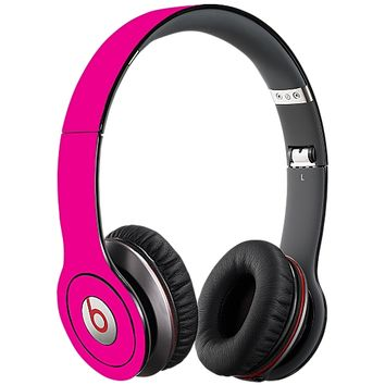 Hot Pink Skin for the Beats Solo HD by skinzy.com