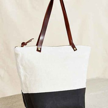 Thread & Paper Color Block Tote Bag