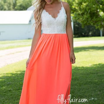 The First Impression Maxi Neon Pink