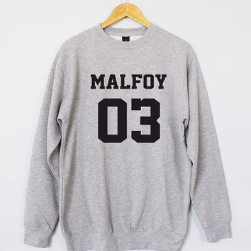 Draco Malfoy Sweatshirt. Harry Potter Sweatshirt. Draco Malfoy Sweater. Draco Malfoy Jumper. Harry Potter Jumper. Harry Potter Sweater