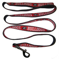 Georgia Bulldogs Leash Large