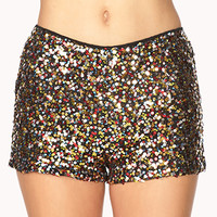 Confetti Sequined Shorts