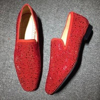 DCCKU62 Cl Christian Louboutin Loafer Style #2311 Sneakers Fashion Shoes