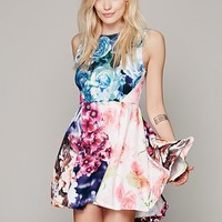 Flower Bomb Kickout Dress