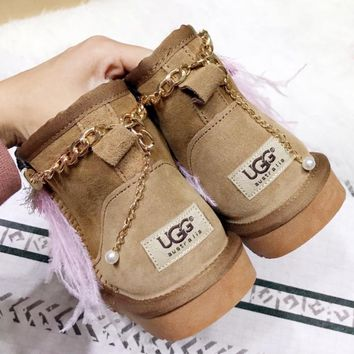 UGG Ethnic style Snow boots