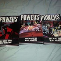 POWERS: THE DEFINITIVE HARDCOVER VOL 1 2 3 Bendis Oeming