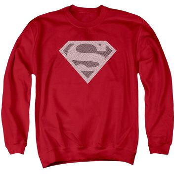 Superman - Elephant Shield Adult Crewneck Sweatshirt