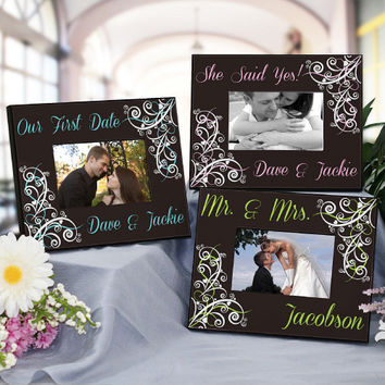 Personalized Wedding Collection Printed Frame