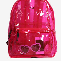 90s Jelly Backpack - Pink