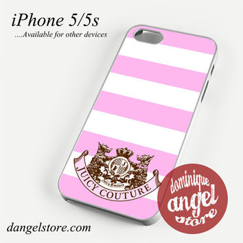 Juicy Couture Phone case for iPhone 4/4s/5/5c/5s/6/6s/6 plus