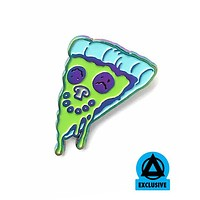 Allison Bamcat - Margherite Pizza Face Pin