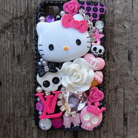 Hello Kitty Phone Cover Droid IPhone Blackberry HTC by Windsday
