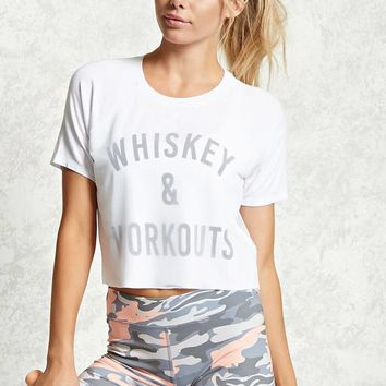 Active Whiskey & Workouts Top