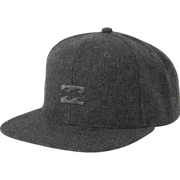 All Day Heather Snapback Hat