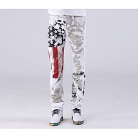 Men's American Slim Straight Fit Denim Skinny Jeans